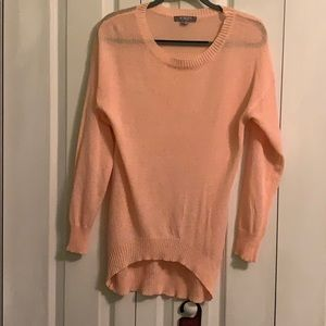 Peach long Sleeve sweater